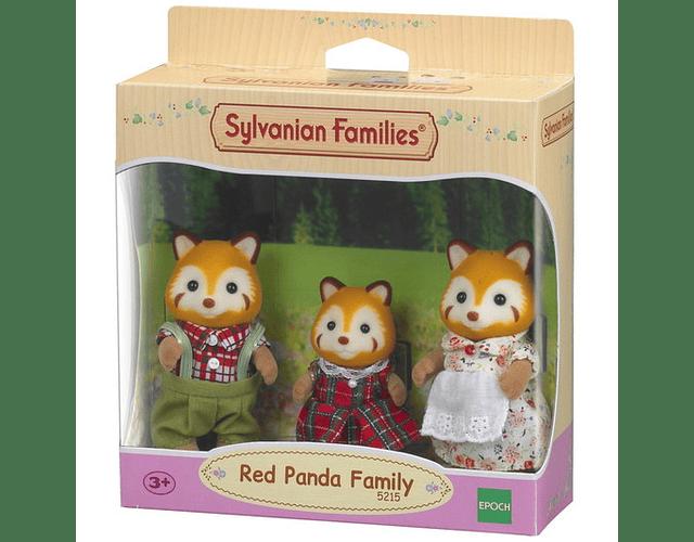 Familia Panda Rojo