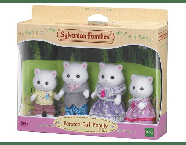 Familia Gato Persa