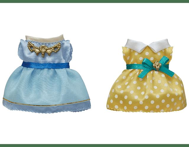 Set de vestidos (Azul claro y Amarillo)
