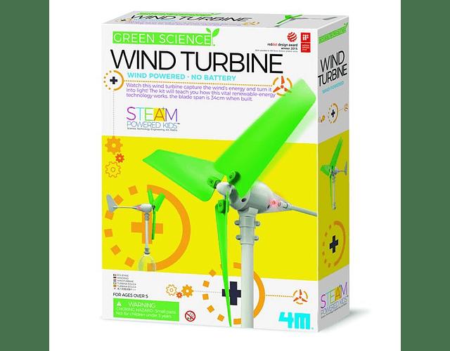 Construye tu turbina