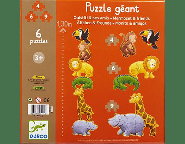 Puzzles Progresivos gigantes Marmoset y sus amigos