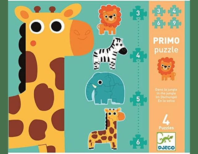 Puzzles Progresivos en la Jungla
