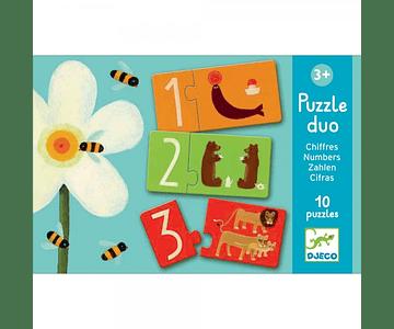 Puzzle Duo Números