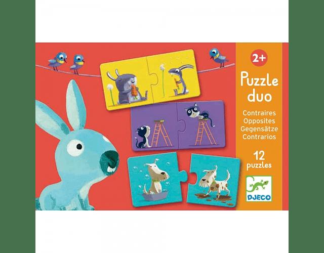 Puzzle Duo Opuestos