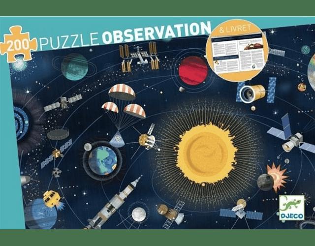 Puzzle El espacio 200 piezas