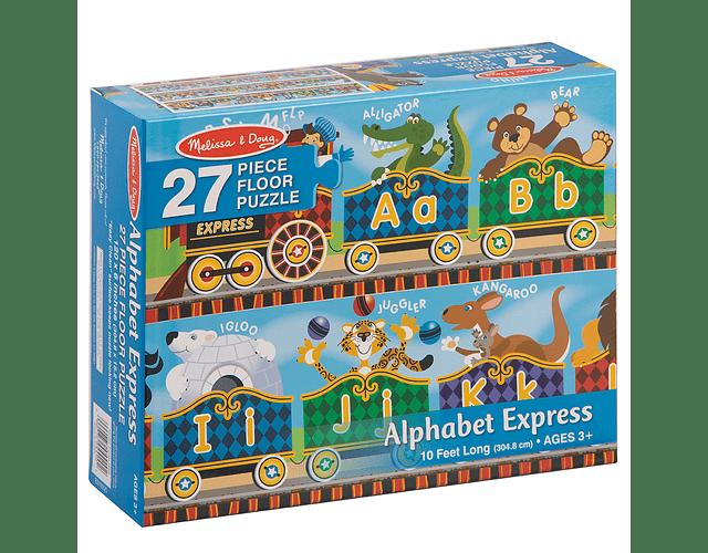 Puzzle Alfabeto Express 27 piezas
