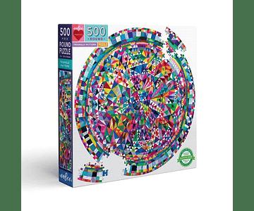 Puzzle Patrón de triángulos 500 piezas