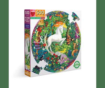 Puzzle Jardin de unicornio 500 piezas