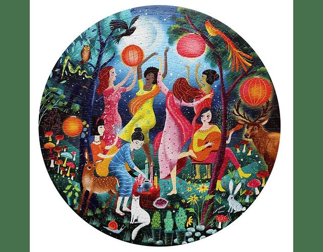 Puzzle Baile Lunar 500 piezas