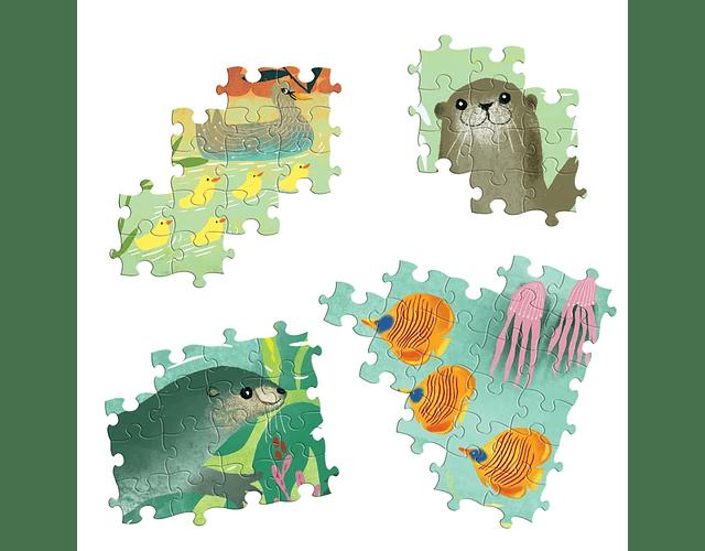 Puzzle Nutrias 1000 piezas