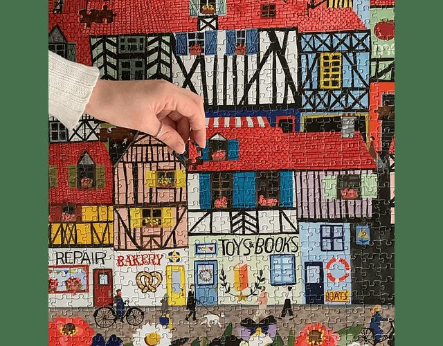 Puzzle  Whimsical Village 1000 piezas