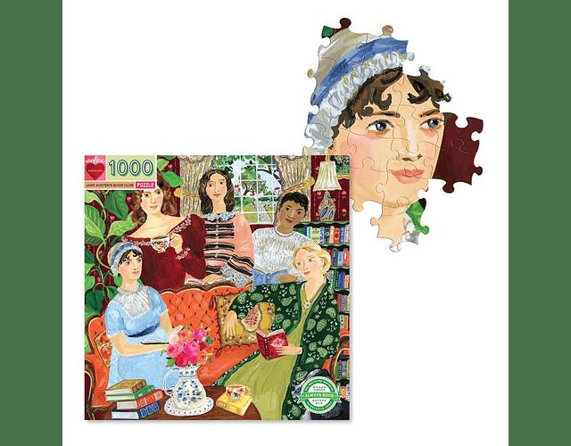 Puzzle Jane Austen`s 1000 piezas