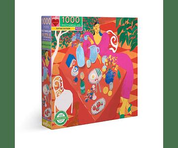 Puzzle Comer al aire libre 1000 piezas