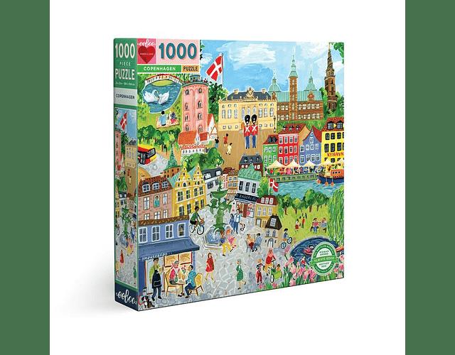 Puzzle Copenhagen 1000 piezas