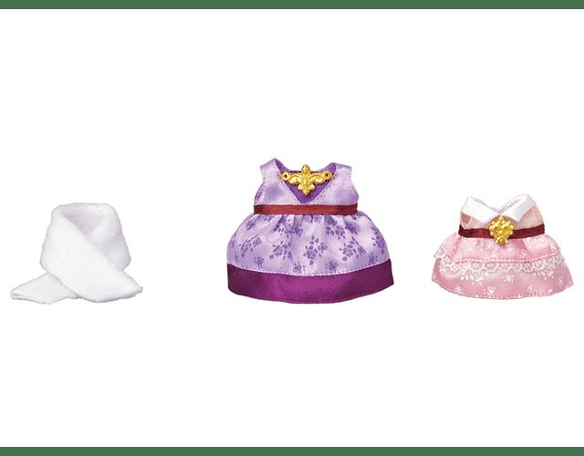 Set de vestidos (Rosado y Morado)