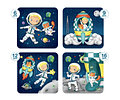 Puzzles Progresivos Astronauta