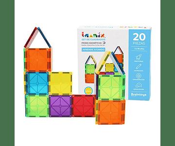 Imanix Set de 20 cuadrados