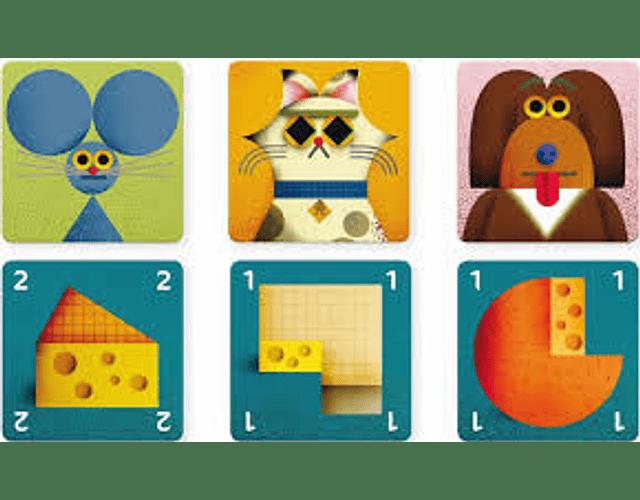 Juego de cartas Cheese Rescue