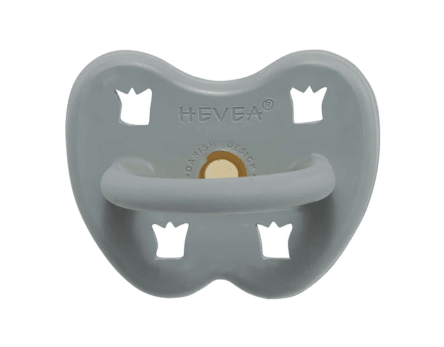 Chupete de caucho ortodoncia 3-36 meses Grey