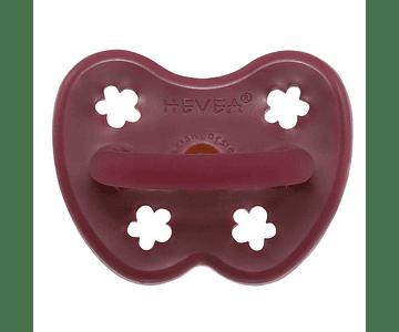 Chupete de caucho Redondo 3-36 meses Ruby Red