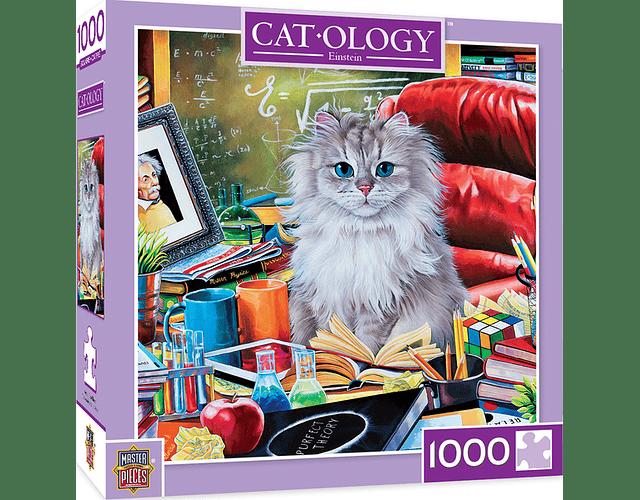 Puzzle Cat-Ology Einstein 1000 piezas