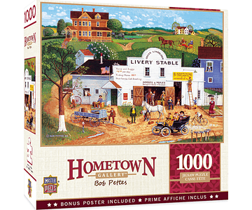 Puzzle Hometown - Changing Times 1000 piezas