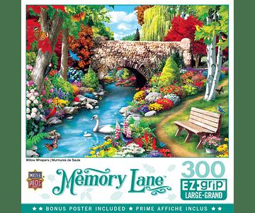 Puzzle Memory Lane - Willow Whispers 300 Piezas