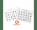 Imapad Duo Letras mayúsculas y minúsculas