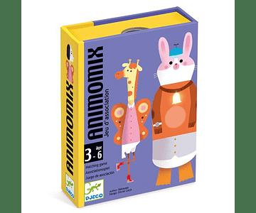 Juego de cartas Animomix