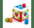 Caja de encajes y formas