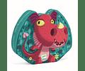 Puzzle Silueta Edmond el Dragón 24 piezas