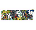 Puzzle Silueta Aladdin 24 piezas