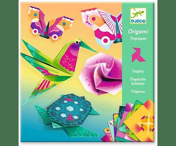 Set de Origami Tropics