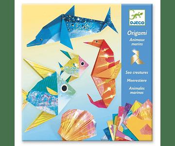 Set de Origami Animales Marinos