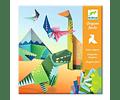 Set de Origami Dinosaurios