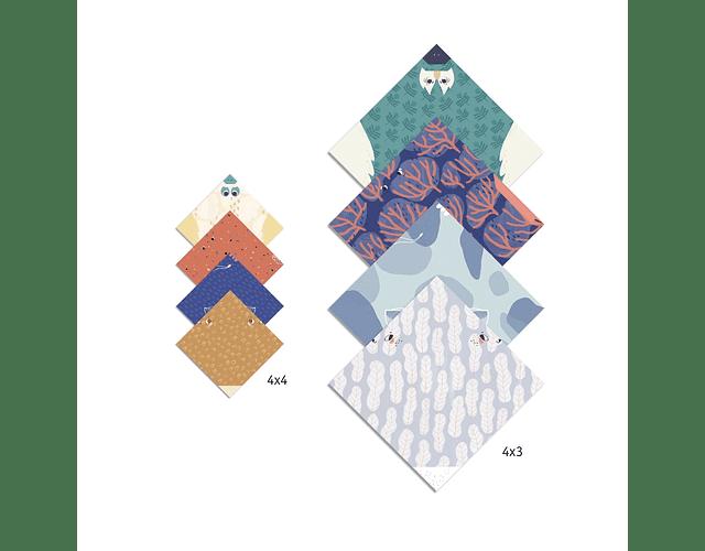 Set de Origami Familia Animal
