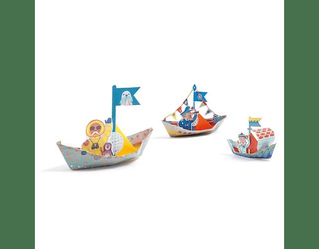 Set de Origami Barcos