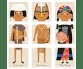 Puzzle pueblos originarios de Chile Pipa Flor