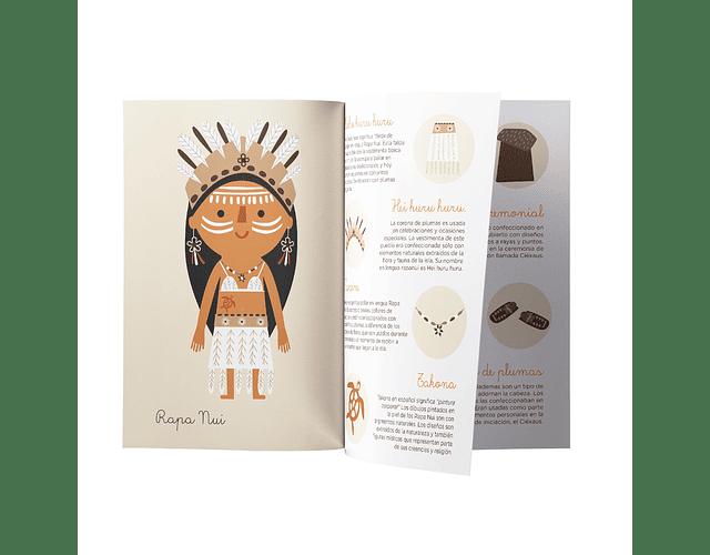Memorice pueblos originarios de Chile Pipa Flor con Imanix