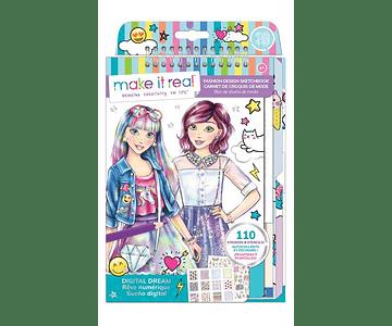 Libreta diseño de moda: Sueño Digital