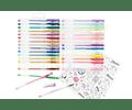 Set de lápices gel (30 unidades)
