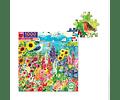 Puzzle Jardín 1000 piezas