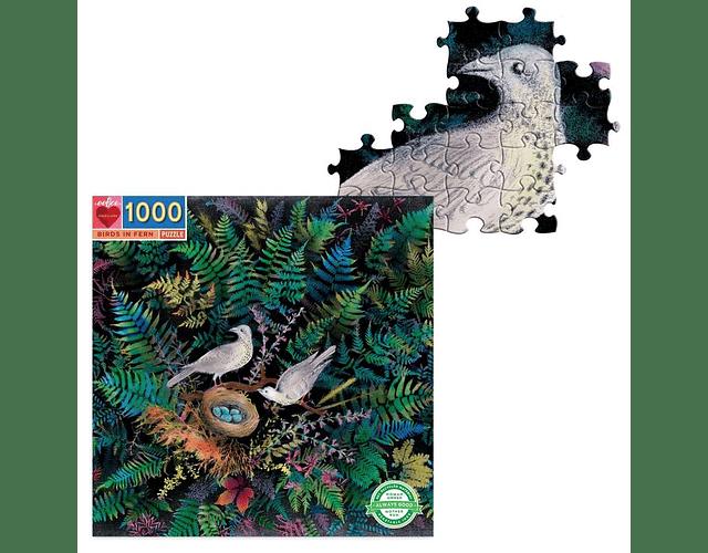 Puzzle Pájaros en un nido 1000 piezas