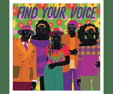 Puzzle Encuentra tu voz 1000 piezas