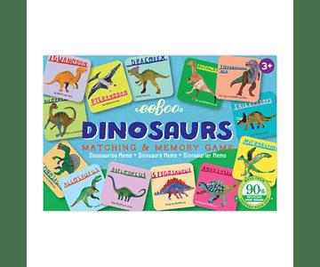 Juego pequeño memorice dinosaurios