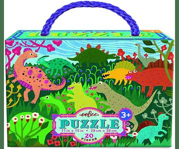 Puzzle Dinosaurios 20 piezas