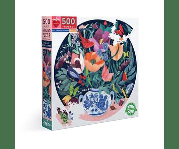 Puzzle Vida con Flores 500 piezas