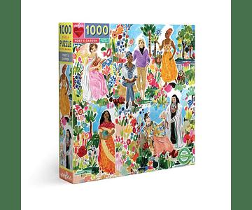 Puzzle Jardín de Poetas 1000 piezas