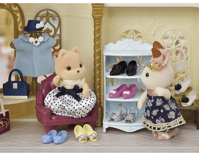 El maletín de moda de Melanie