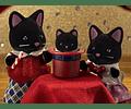 Familia Gato de Medianoche